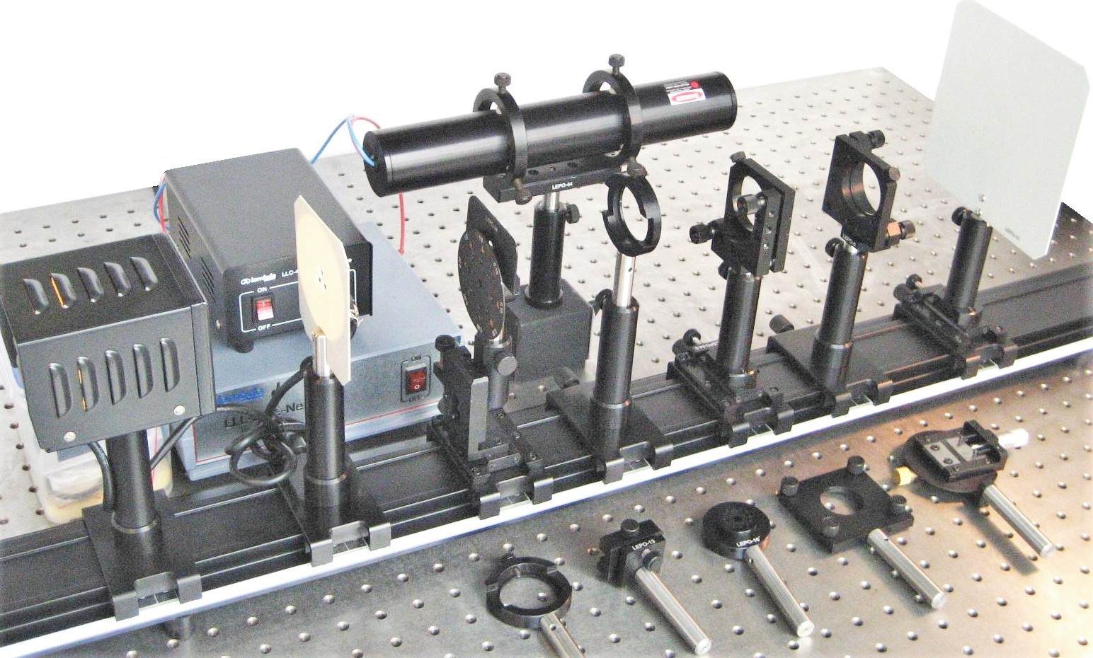 LEOK-1 Optics Experiment Kit - Basic Model