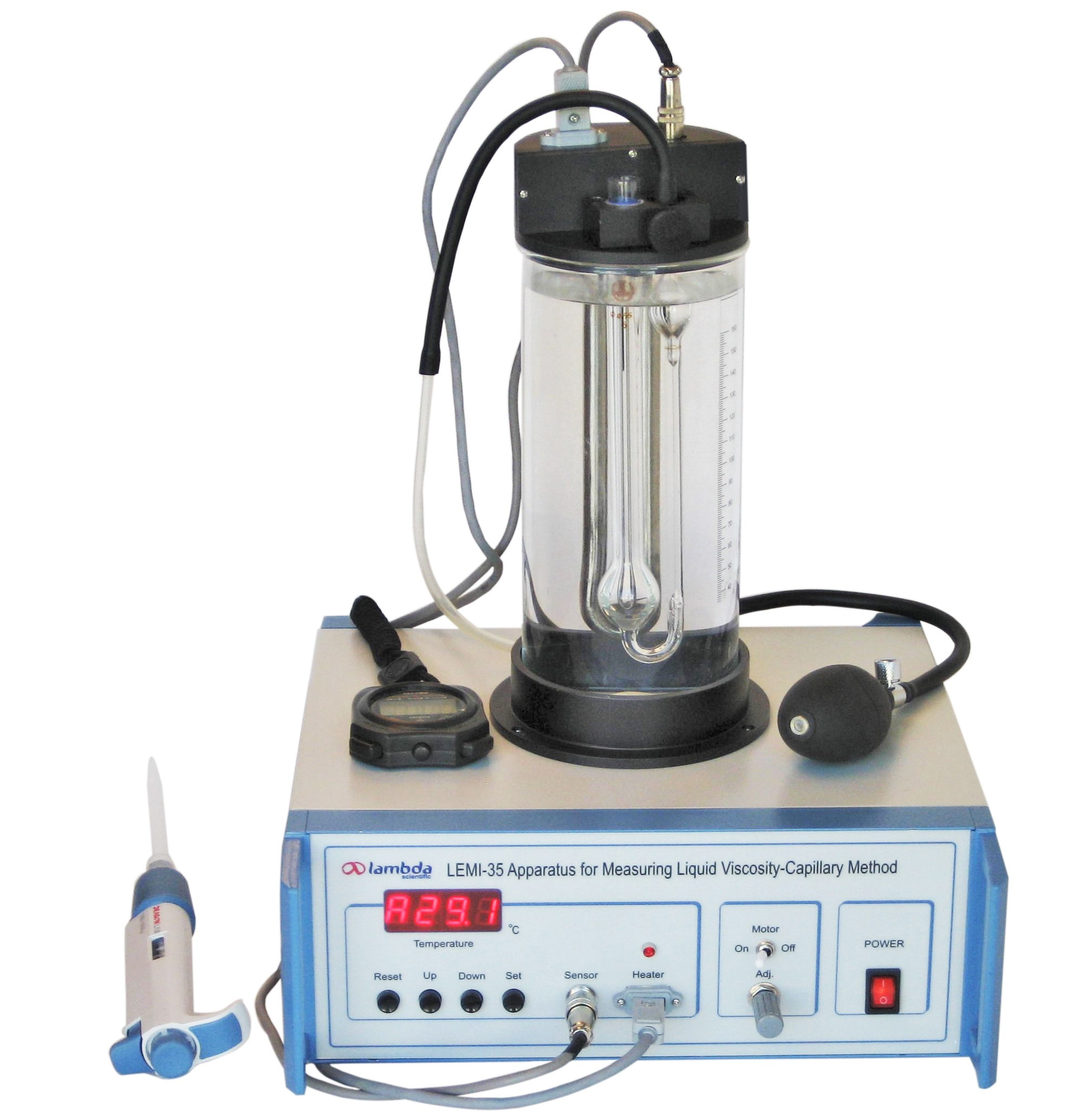 LEMI-35 Measuring Liquid Viscosity - Capillary Method