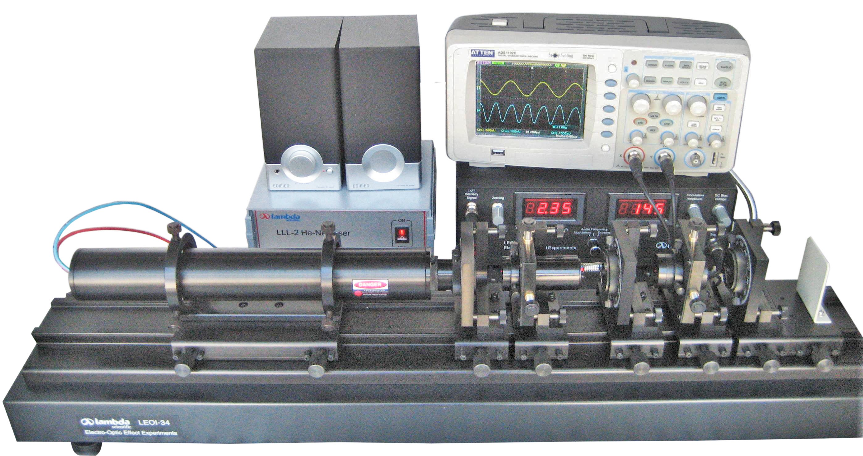 LEOI-34 Experimental System for Electro-Optic Modulation
