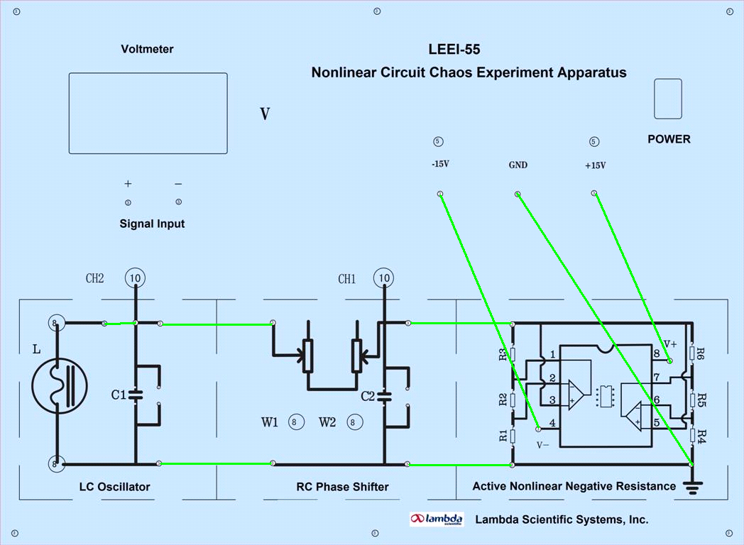 LEEI-55 Nonlinear Circuit Chaotic Experimental Apparatus.png