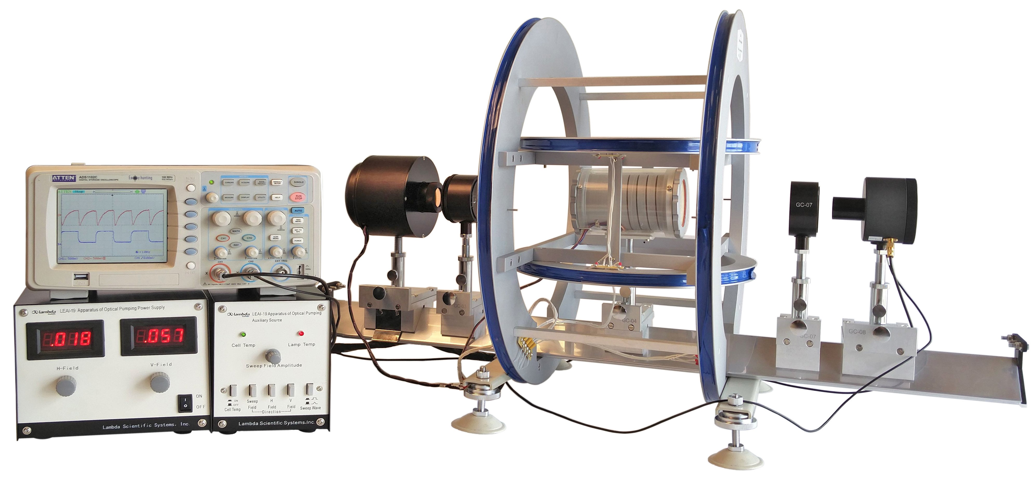 LEAI-19 Apparatus of Optical Pumping