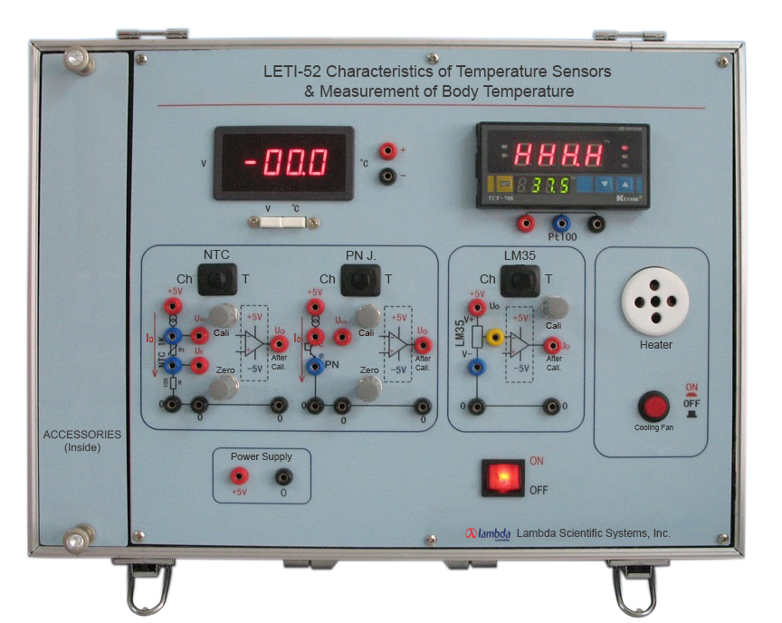 LETI-52 Characteristics of Temperature Sensors & Measurement of Body Temperature