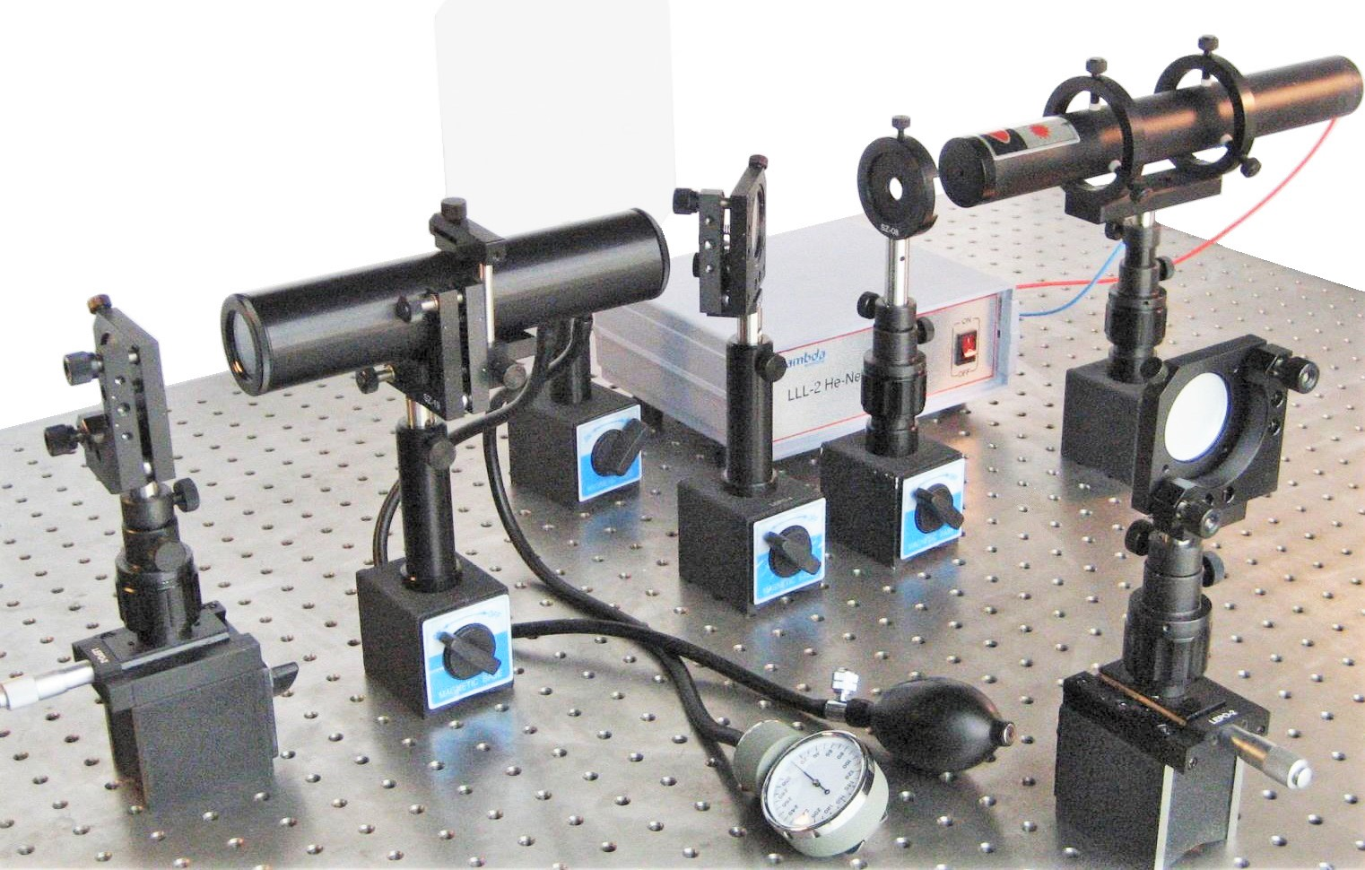 LEOK-3A Optics Experiment Kit - Enhanced Model